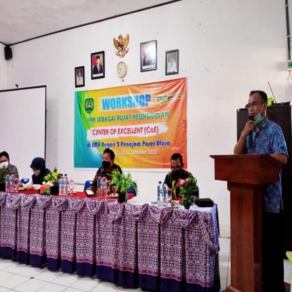 WORKSHOP SMK SEBAGAI PUSAT KEUNGGULAN (Center of Excellent) di SMK Negeri 2 Penajam Paser Utara
