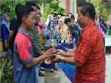 SISWA SMK NEGERI 2 PPU MEMPEROLEH THE BEST VOKAL PADA FESTIVAL HUT SMAN 2 PPU