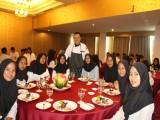 Kegiatan Pembelajaran Table Manner Jurusan Tata Boga di Hotel Grand Jatra
